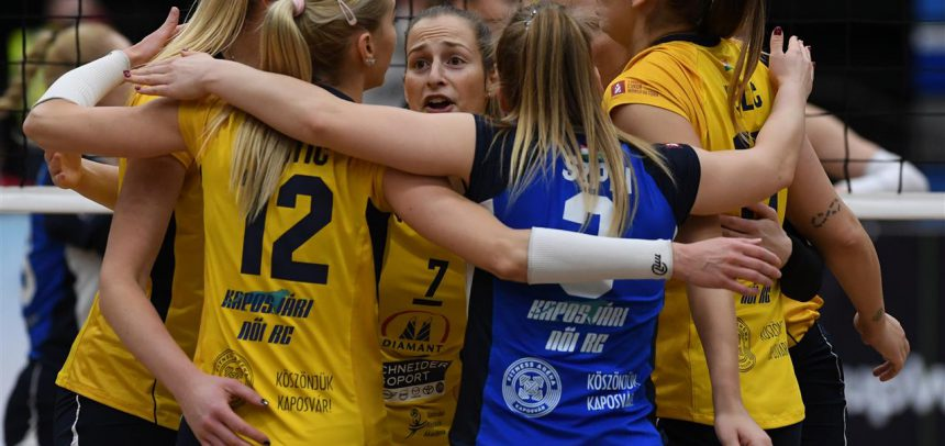 Kaposvar and Prague to begin play in the semifinals of the CEV Challenge Cup