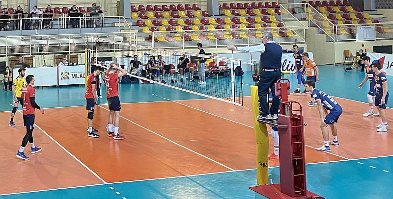 MEVZA League – Mladost ZAGREB edge ACH Volley LJUBLJANA in last main round match
