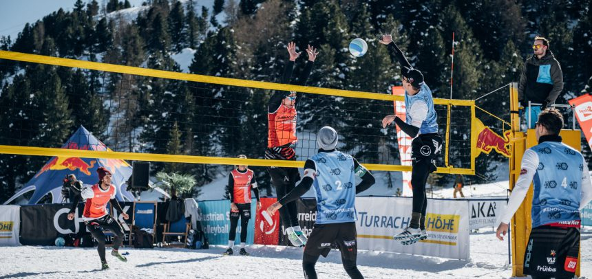Snow Volleyball kicks off 2021 in its birthplace