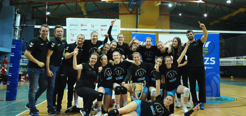 Calcit Volley KAMNIK claims fifth national championship title