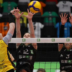 LINZ-STEG celebrate second title in Austrian national league to complete double