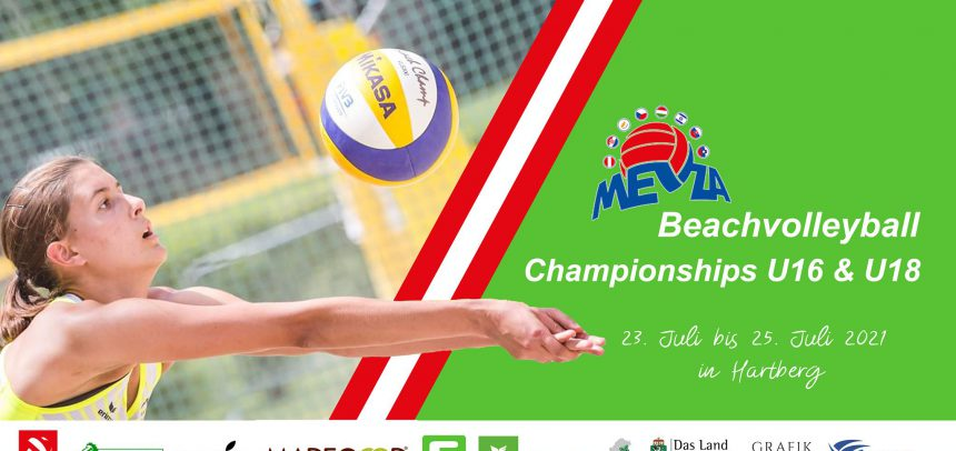 Follow live the U16 and U18 MEVZA Beach Volleyball Championships in Hartberg!