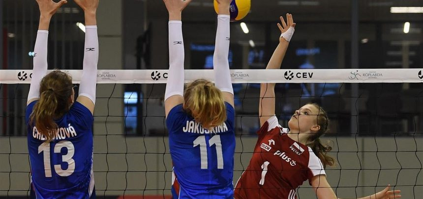 Slovakia through to classification matches 5-8 at U16W EuroVolley