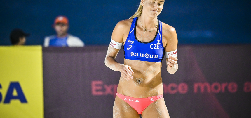 Czech team of Hermannova/Slukova marked as DNS for the Olympic Games Tokyo 2020 Beach Volleyball Competition