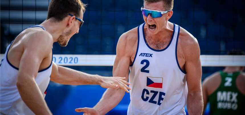 Czech duo back in the game at the Olympics