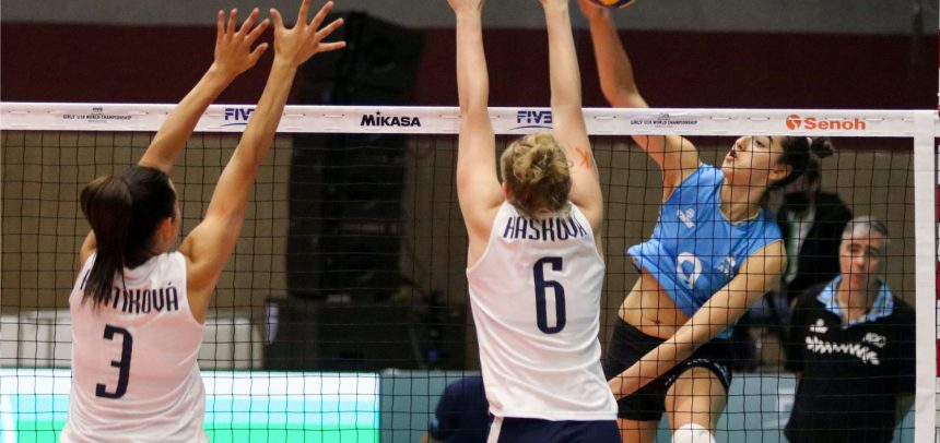 After another tie-break Slovakia will face Thailand for 11th place at the U18 World Champs