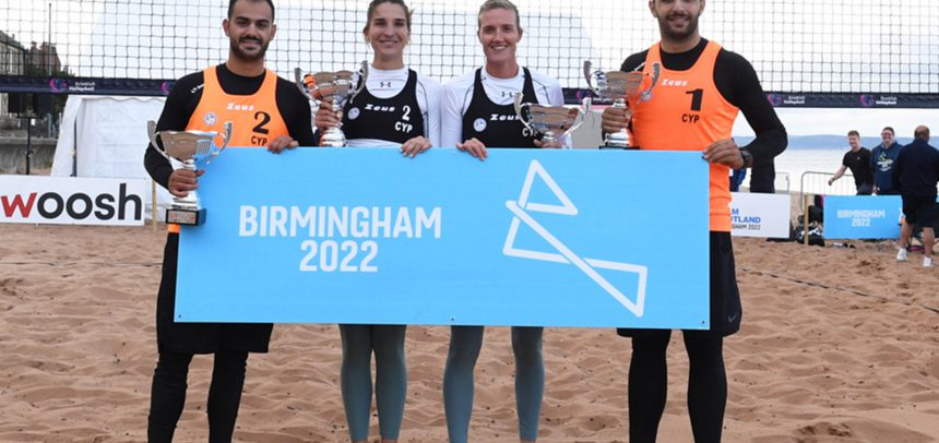 Teams from Cyprus punch double ticket to Birmingham 2022 Commonwealth Games at European Qualifiers in Edinburgh