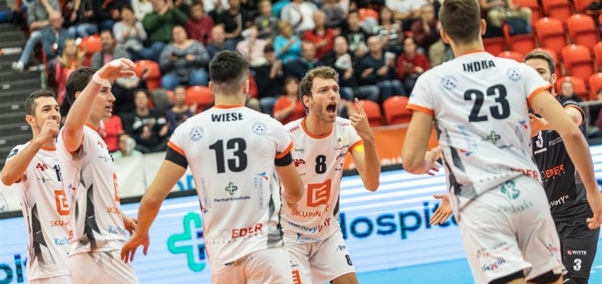 Czech champion Karlovarsko claims Golden Set victory to move on to Round 2