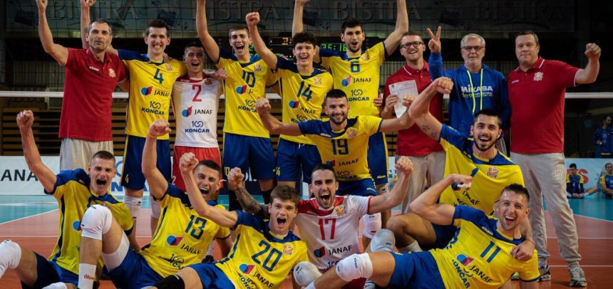 Mladost bounce back from away loss to make it to #CLVolleyM Round 2