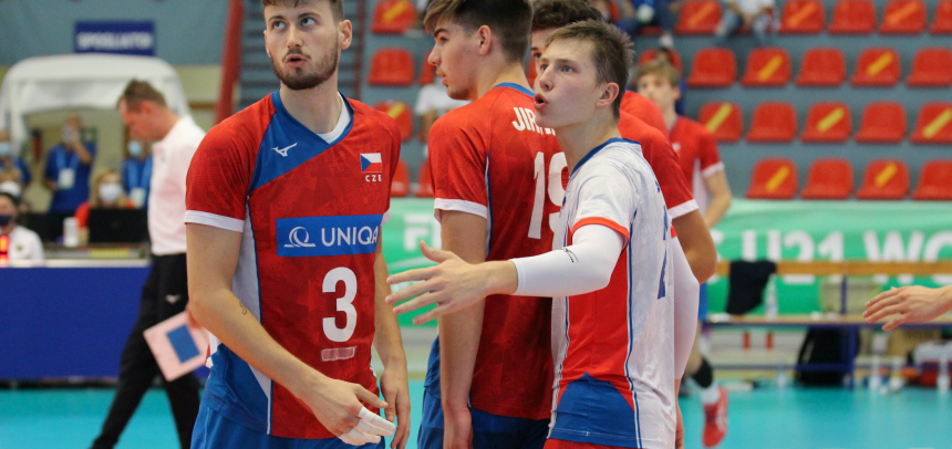 Czech Republic finishes eighth at the U21 World Championships